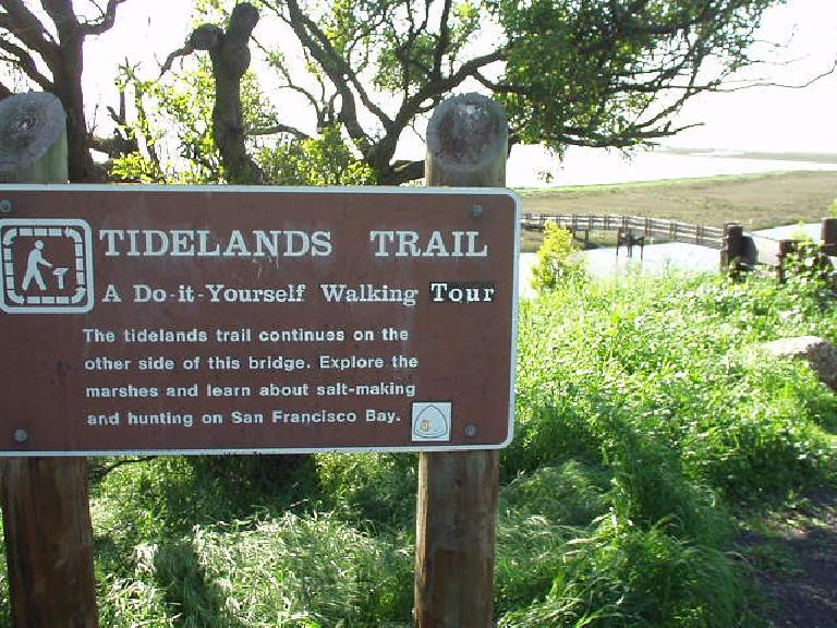 """How convenient--a """"do-it-yourself"""" walking tour of the Tidelands Trail."""