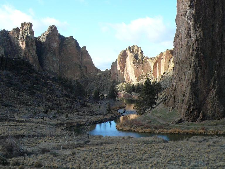 Smith Rock in all its glory.