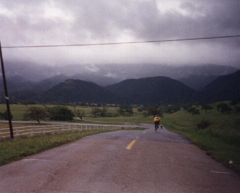 verdant hillsides, 1998 Solvang Double Century
