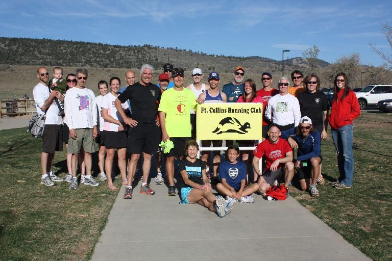 Group photo after the race. Photo: Ellen Silva.