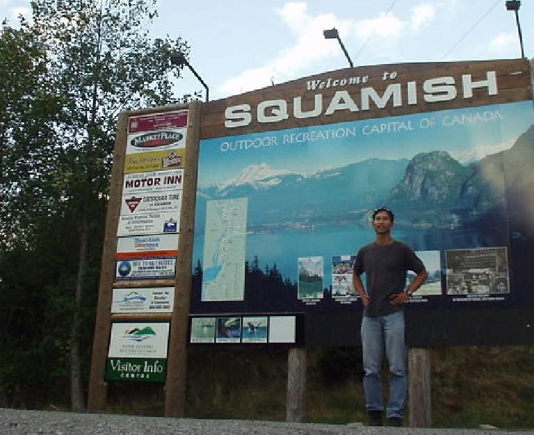 Squamish is the self-proclaimed outdoor recreation capital of Canada.