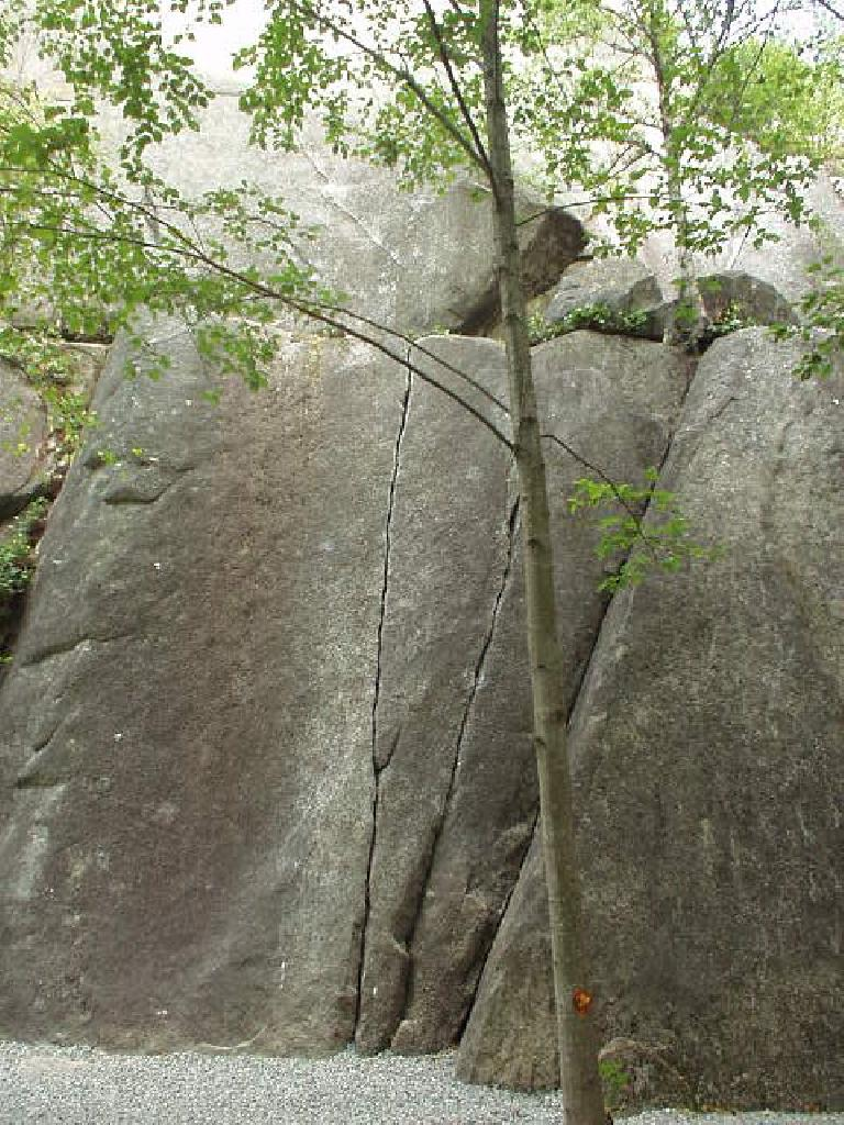 This was a nice finger crack.  Lots of climbing routes throughout the entire area.