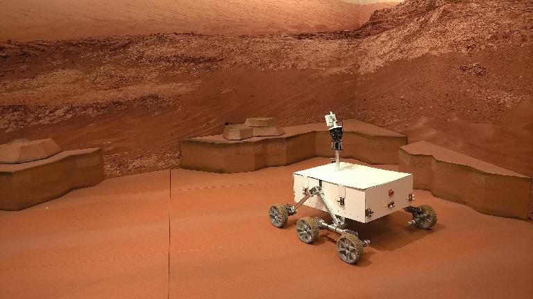 Sojourner Mars Rover at the St. Louis Science Center Mars exhibit.