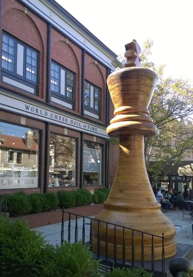 The World Chess Hall of Fame.