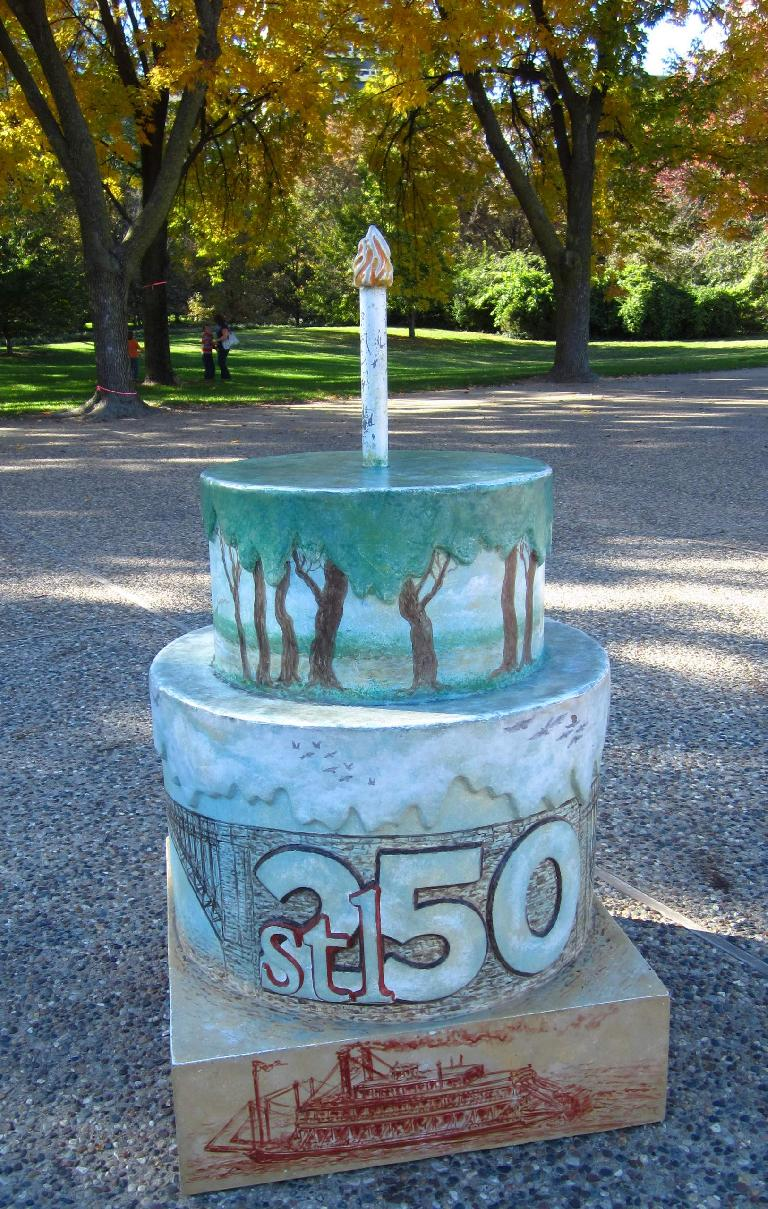 St. Louis must have celebrated its 250-year birthday recently.