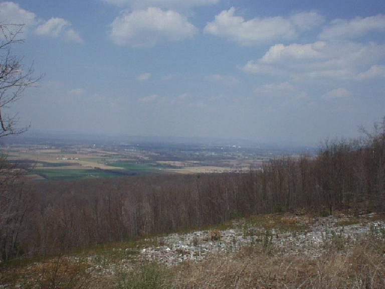 The view from Rothrock State Park.