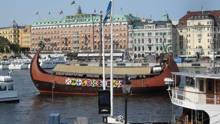 A Swedish ship. (July 25, 2013)