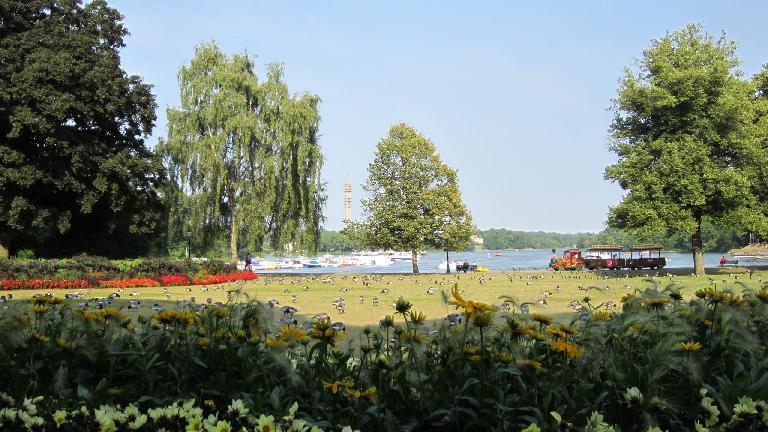 Nobelparken. (July 25, 2013)