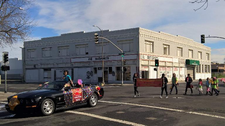 The 2017 Stockton Chinese New Year parade.