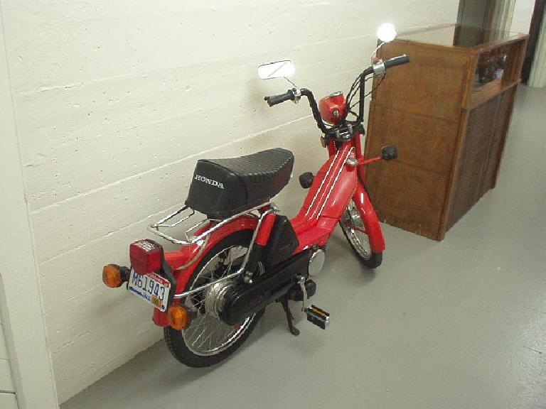 A Honda step-thru or moped, I think.