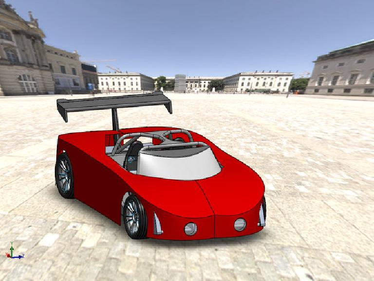 My first supercar body, created in about an hour, just to practice some basic surfacing techniques.