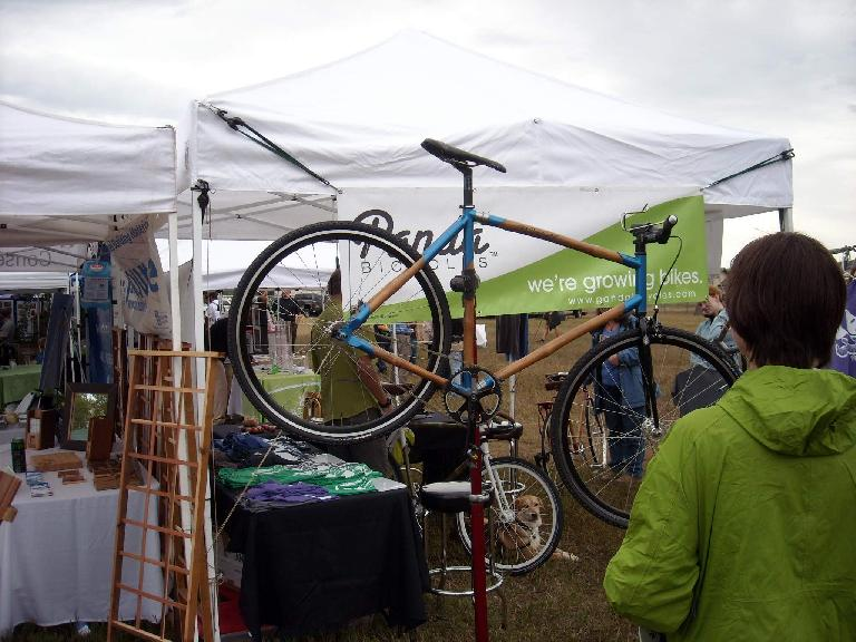 A Panda bamboo bicycle made in Fort Collins.