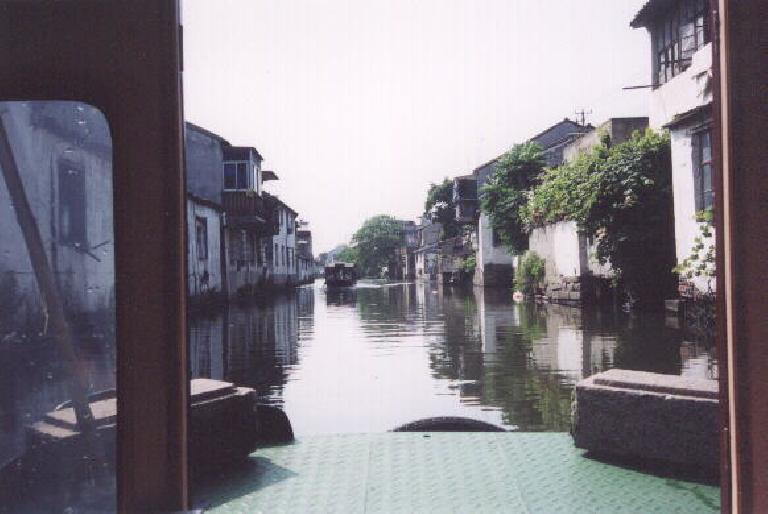 Through more canals.