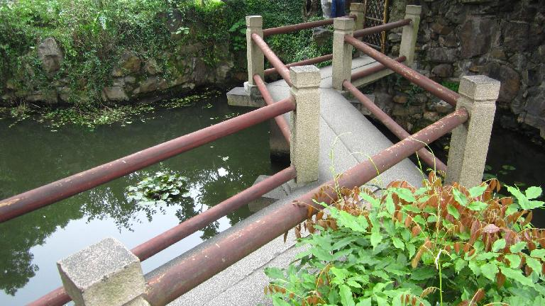 Bridge at the Couple's Retreat Garden.