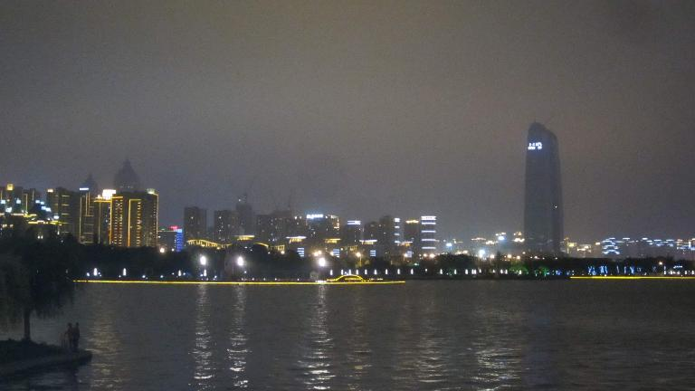 Suzhou at night.