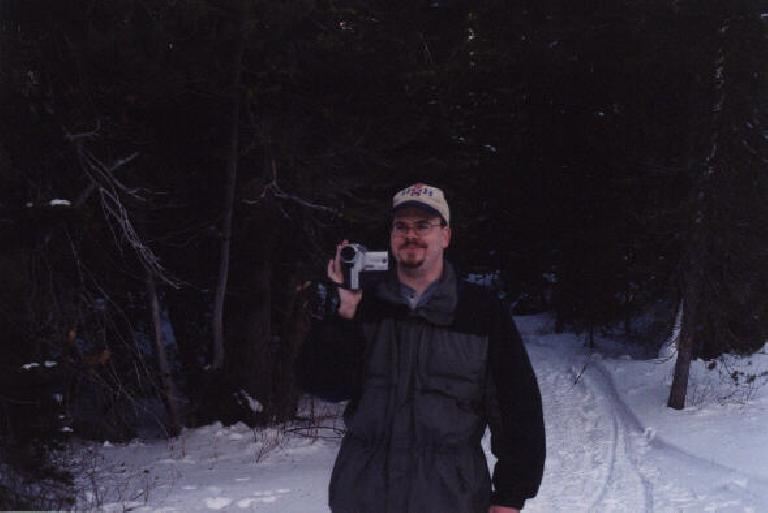 """Mike """"Judge"""" Judge, our faithful photographer and documentarist. (December 31, 2000)"""