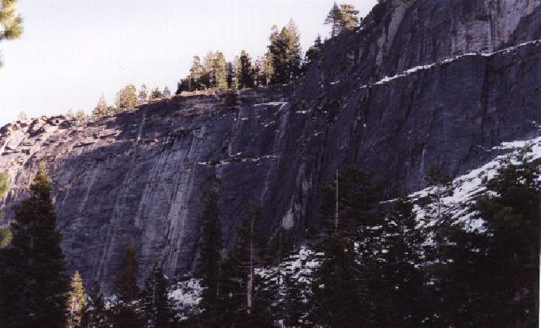 Lovers' Leap on the first day of the new millennium! (January 1, 2001)