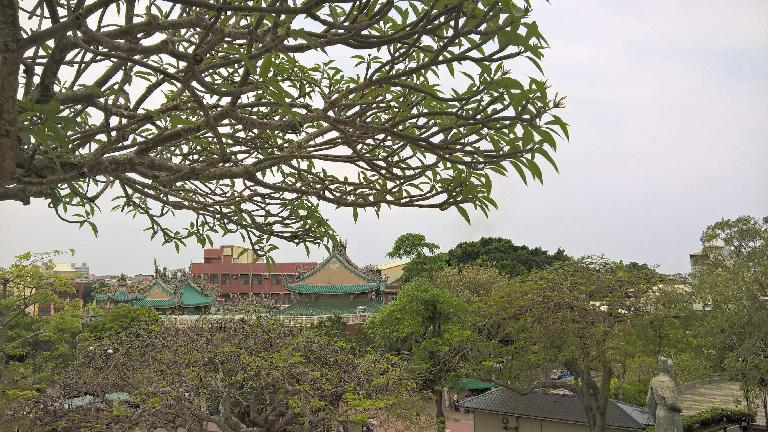 Anping Old Fort (a.k.a. Fort Zeelandia) was a fortress built over ten years from 1624 to 1634 by the Dutch East India Company in Tainan City, Taiwan.