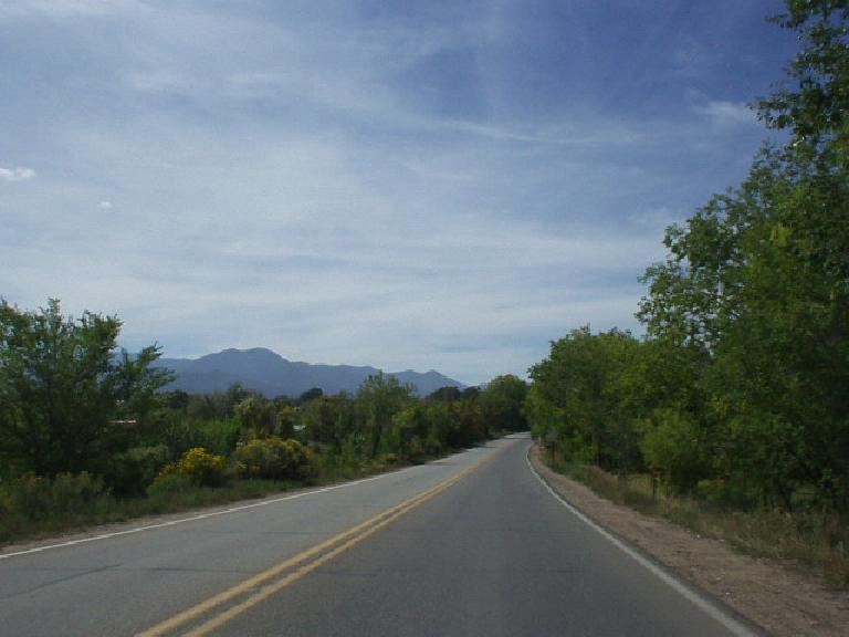 Further east of Taos were some rather lush areas.