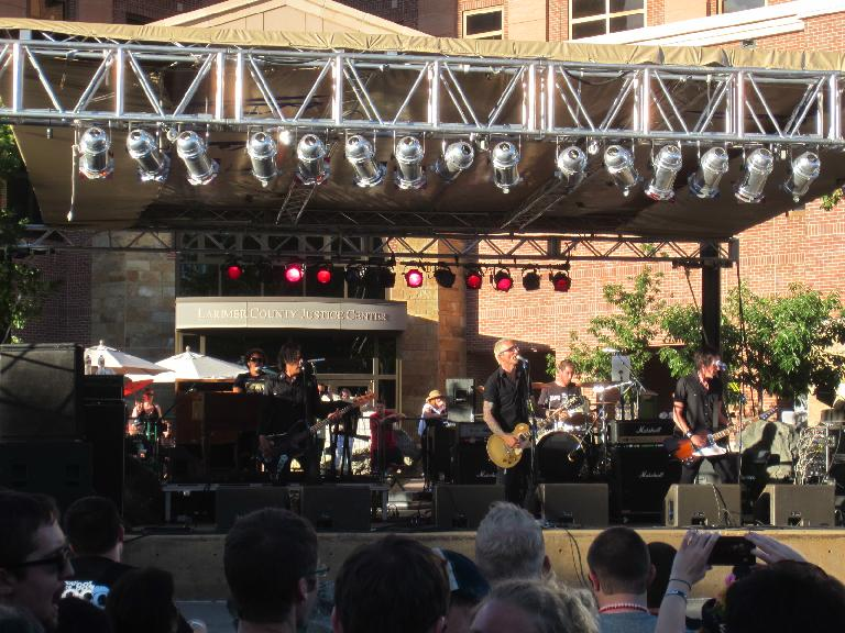 The Everclear concert was great! (June 9, 2012)