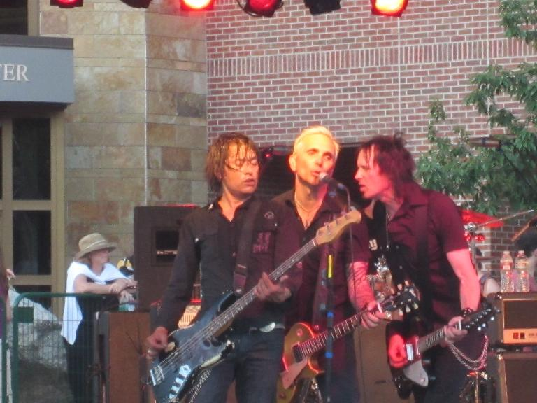Everclear singing an encore. (June 9, 2012)