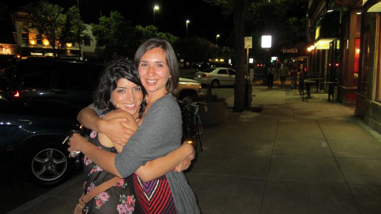 Lauren and Diana. (June 7, 2013)