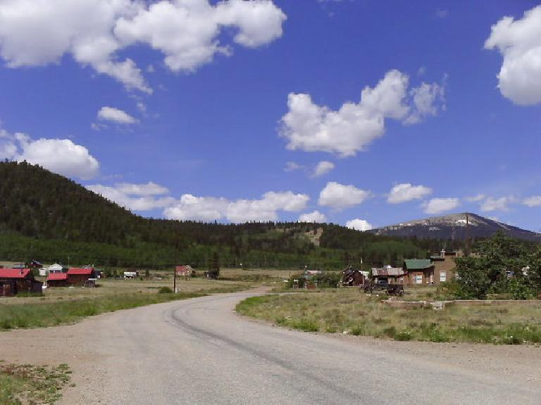 [Day 17, Mile 1693] Historic Como, CO, and into South Park. (June 29, 2008)