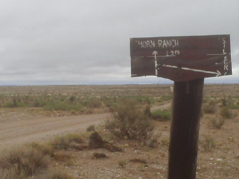 [Day 27.5, Mile ~2600] Through no-man's land south of Silver City, NM with monsoons again. (July 10, 2008)
