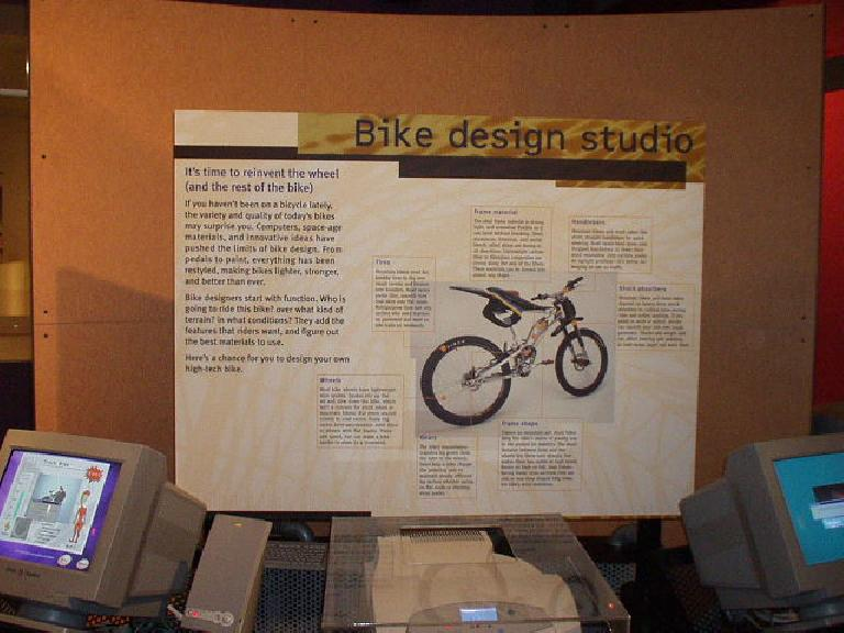 Here you can even design your own bicycle!