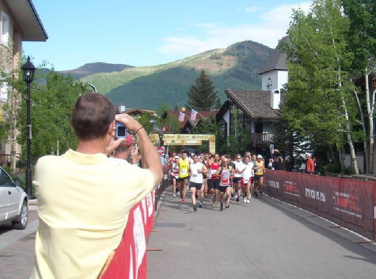 "Runners begin the ""toughest 10k race in the nation."" (June 7, 2009)"