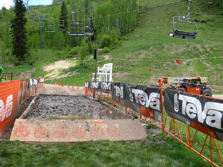 The mud pit! Photo: Tori.