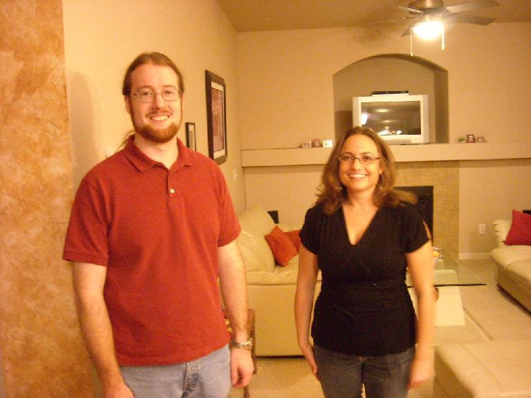 Jesse and Raquel.