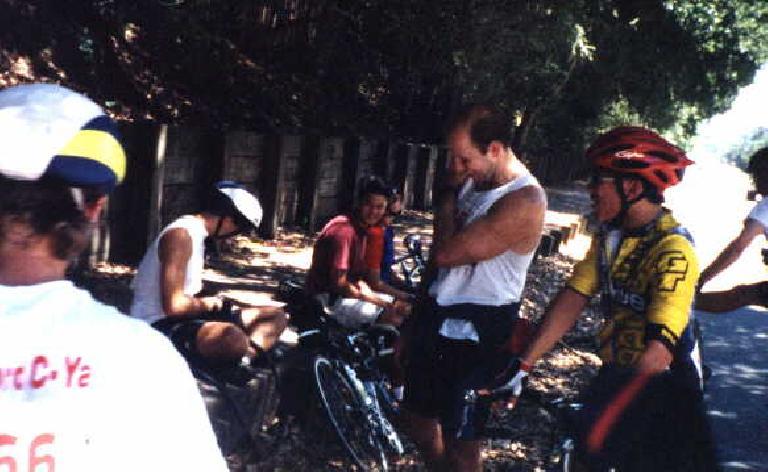 Stanford C-Ya, flat tire, 1998 Tour du Jour