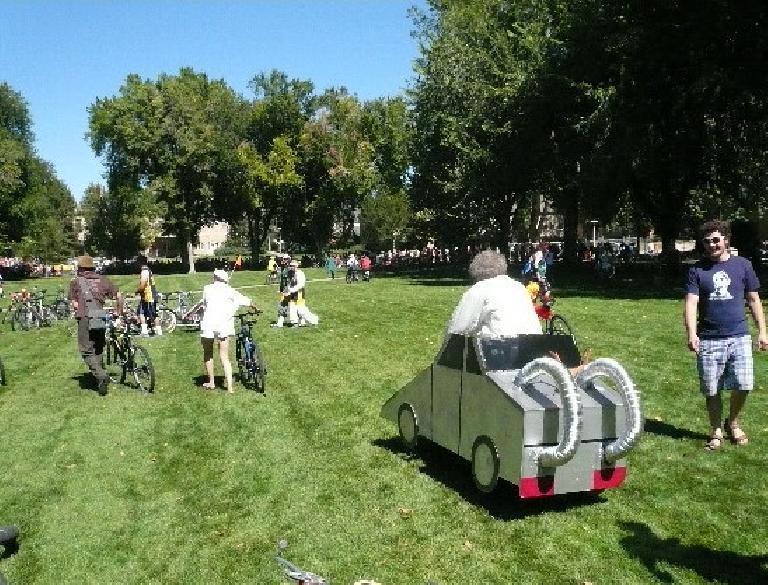 A car-bike.