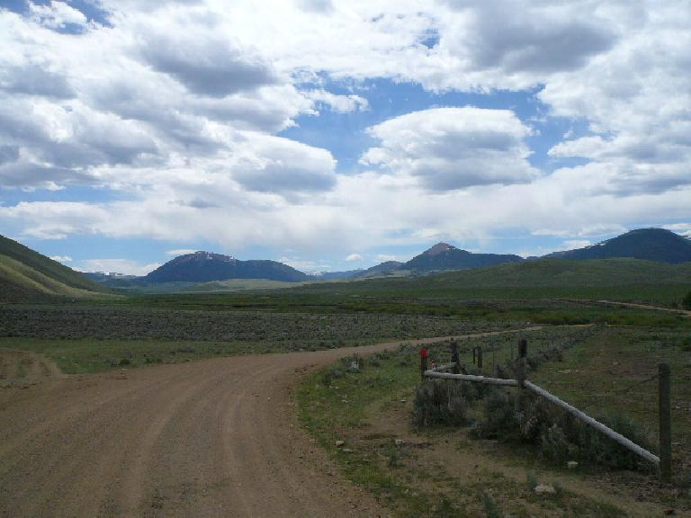 Day 9: Into no man's land -- the Medicine Lodge area and big sky country of Montana.