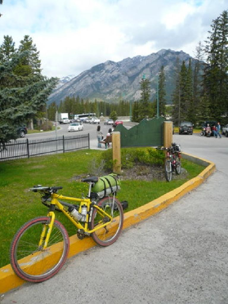 Day 0: At the YWCA in Banff, Alberta, Canada (211 miles north of the U.S. border) before the start of the 2,700-mile race.