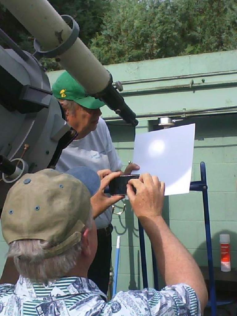 Watching the once-in-a-lifetime transit of Venus at the Colorado State University observatory.