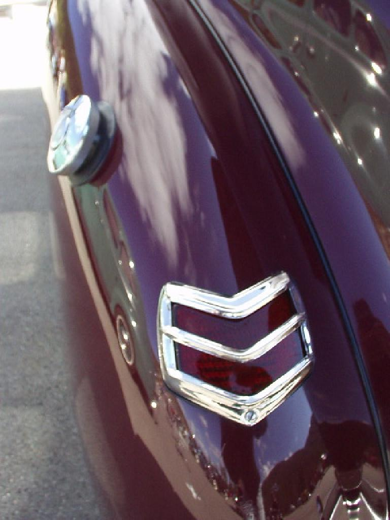 Taillight detail.