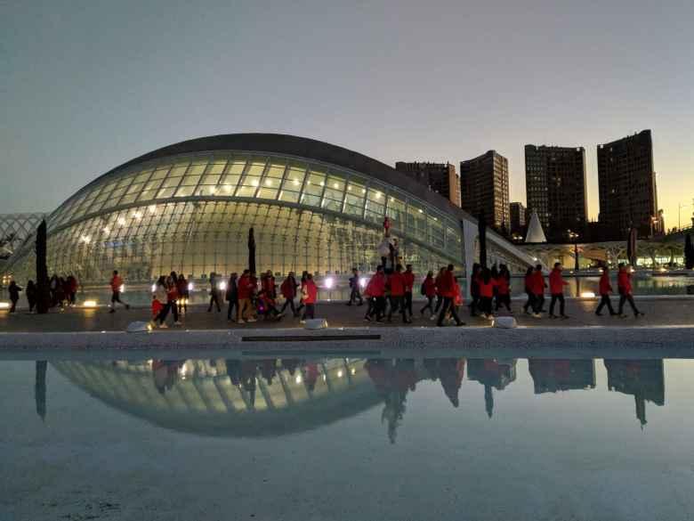 The Valencia IMAX theater.