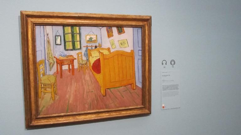 """The bedroom"" by Vincent van Gogh."