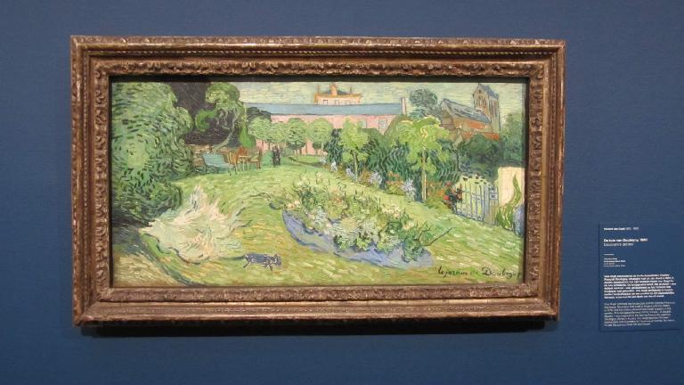 """""""Daubigny's garden"""" by Vincent van Gogh."""