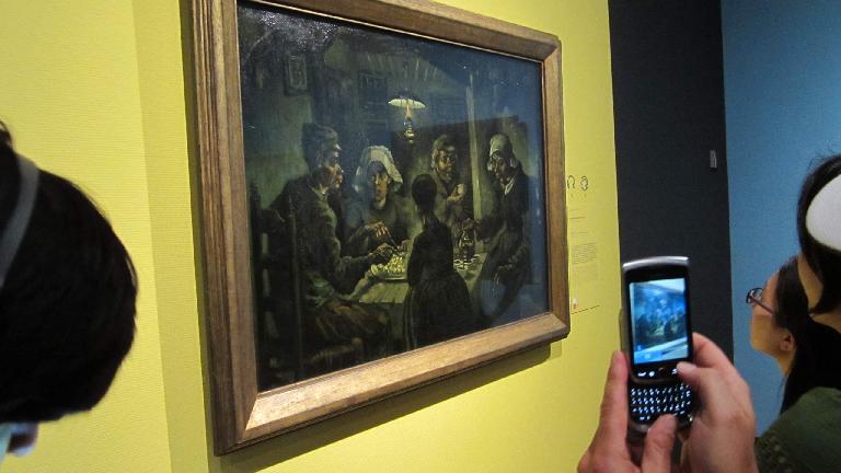 """The Potato Eaters"" by Vincent van Gogh."