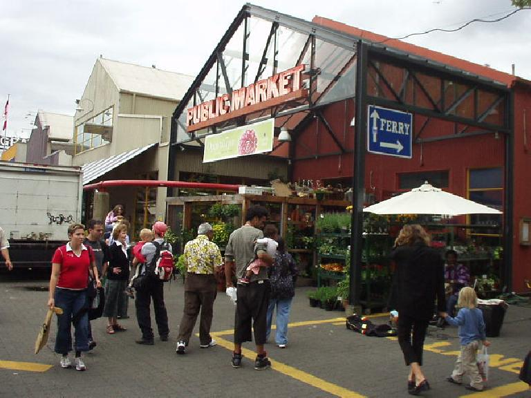 At the advice of a friend (thanks, Heidi), I stopped by the Granville Market.  It turned out to be a really amazing place!