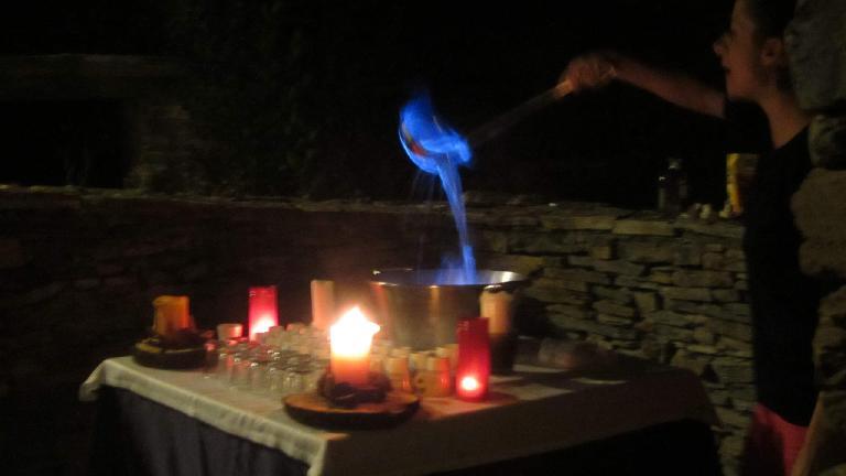 The queimada ritual. (August 27, 2013)