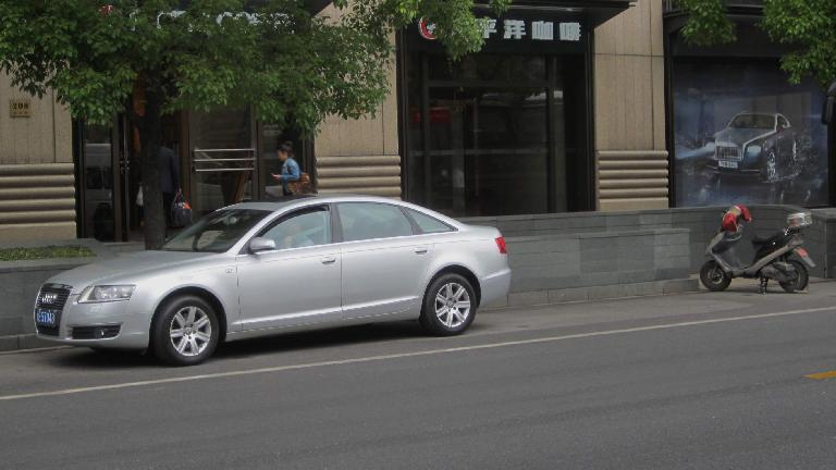 Audi A6. (May 17, 2014)