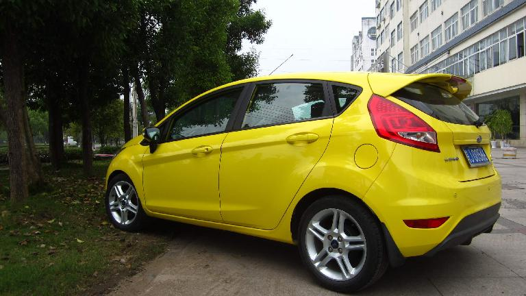 Ford Fiesta near Huangshan City. (May 21, 2014)