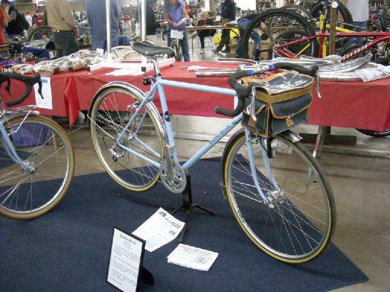 A randonee bike made by the Boulder Bicycle company.