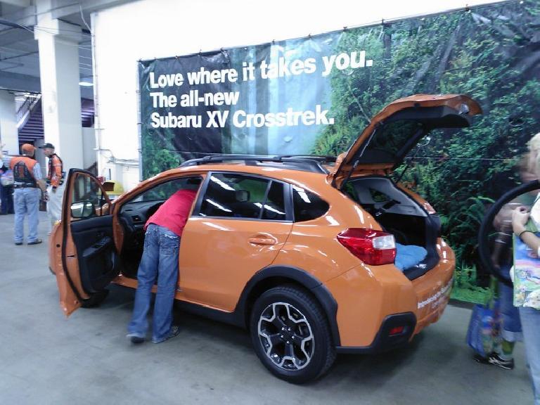 2012 Subaru XV Crosstrek.