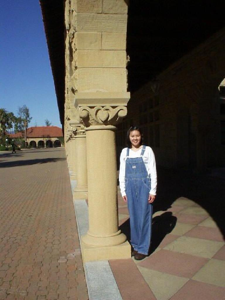 Yes, Venus again, this time at Stanford.  It was good to see my favorite Oklahoman after all these years! (March 2, 2003)