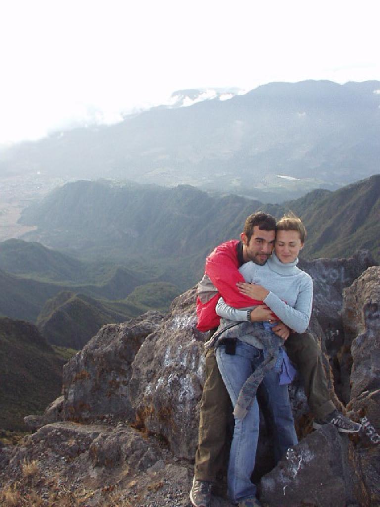 Carlos and Anna at the top.